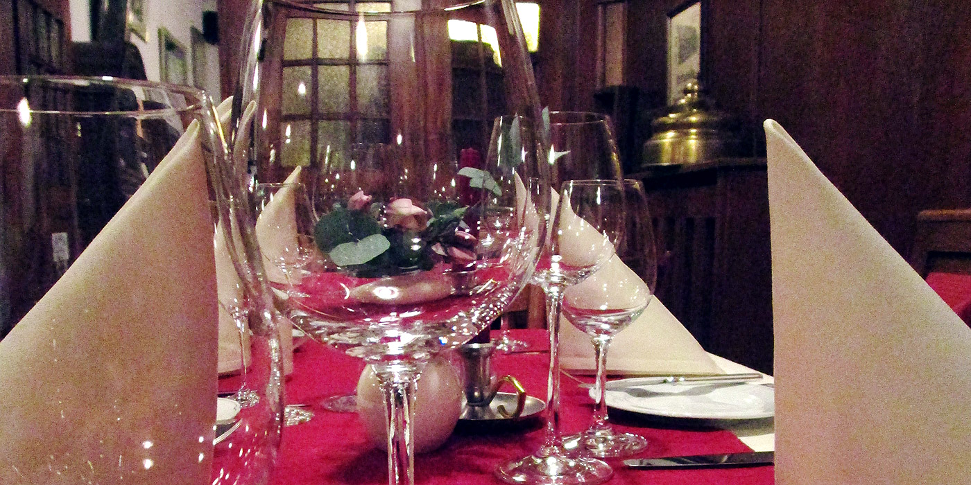 Am Wochenende ist der Buntebock auch Restaurant