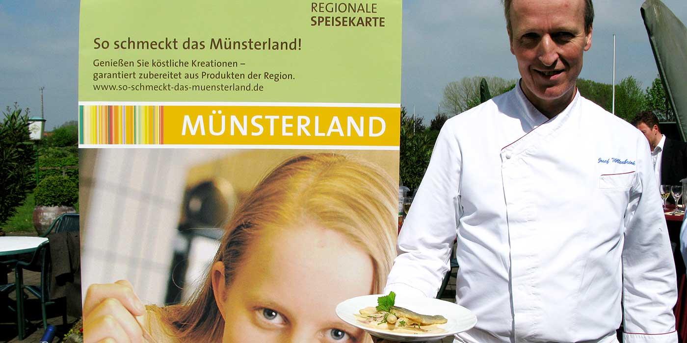 Josef Willenbrink - Regionale Speisenkarte: so schmeckt das Münsterland