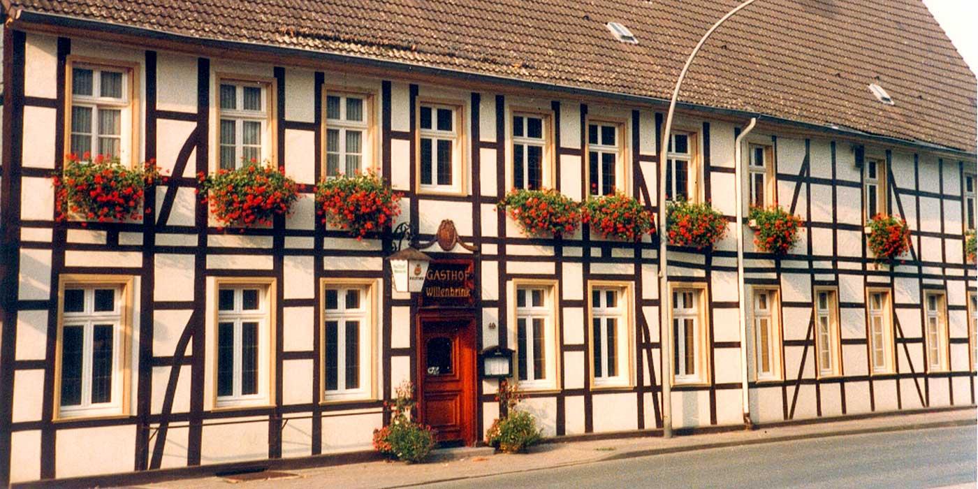 Gasthof Willenbrink geöffnet von Di. bis So. ab 16:00
